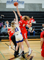 Gallery: Girls Basketball Tulalip Heritage @ Grace Academy